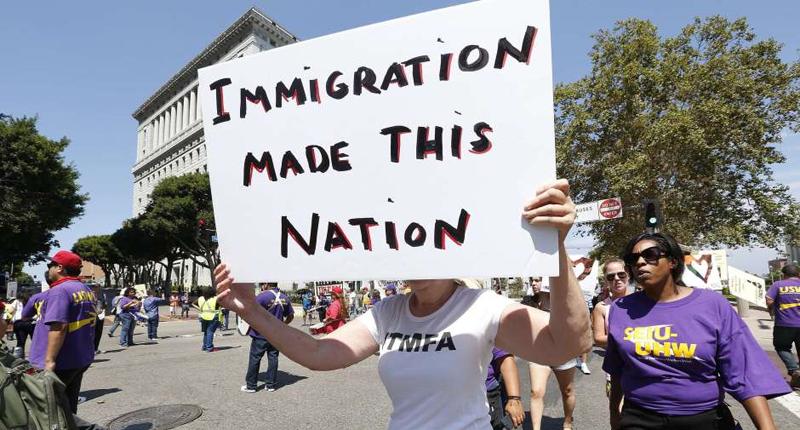 La inmigración hizo esta nación.