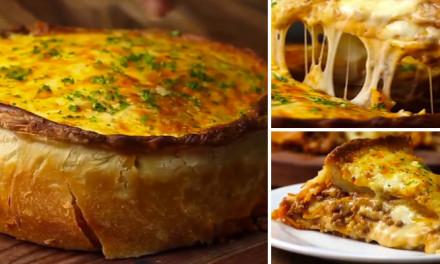 Lasagna-tipo Pizza