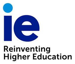 logo IE reinventing hi edu