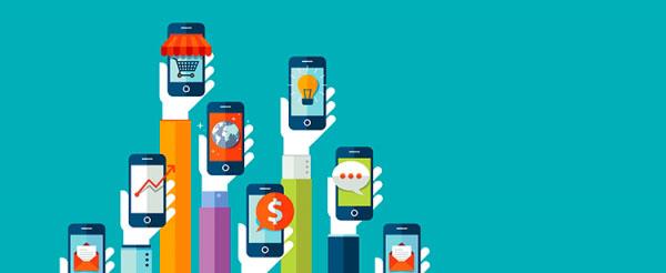 manos y smartphones