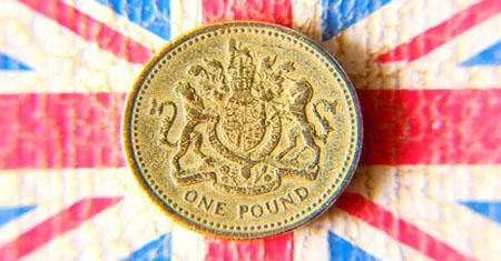 Una Libra Esterlina (one pound)