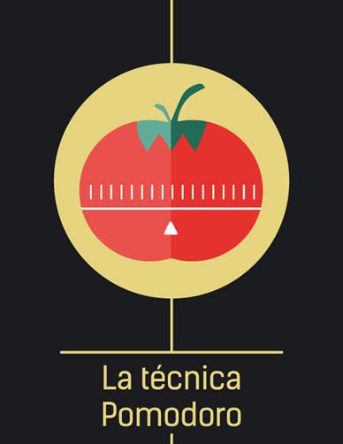 La tecnica Pomodoro-Ilustración-Laura-Perez