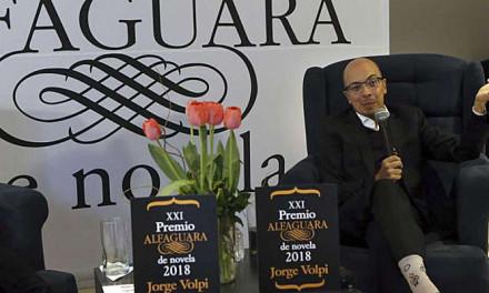 Jorge Volpi Premio Alfaguara de Novela 2018