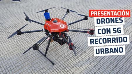Presentación drones con 5G