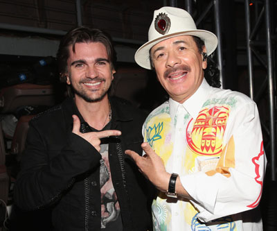 santana-y-juanes-13th+Latin+GRAMMY