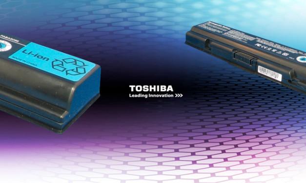 Toshiba desarrolla batería