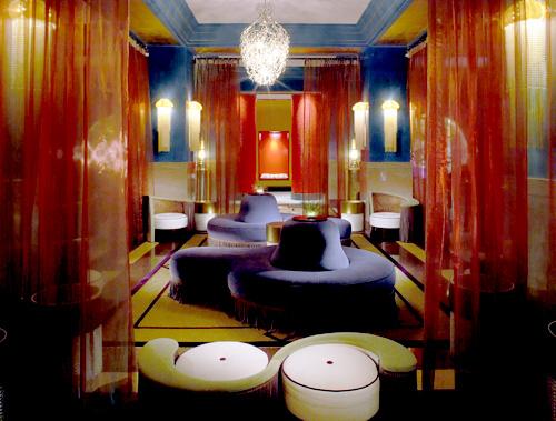 Vestíbulo Azul Hotel Víctor