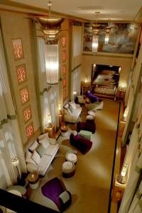 Entrada Rosa del Hotel Víctor